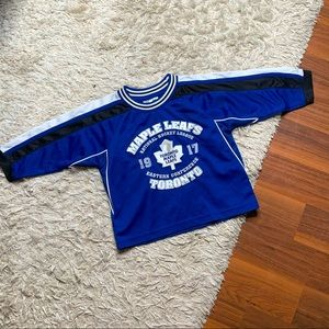 Toronto maple leafs toddler jersey